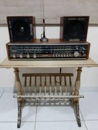 Radio receiver antigo phillipis