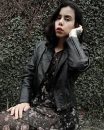 Título do anúncio: Jaqueta de couro perfecto Vintage