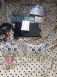 Playstation 2 completo tudo filé o HD o jogo de Play 2