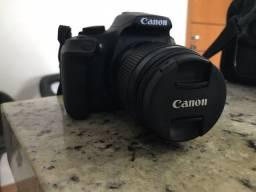 Canon T6 com lente 18-55mm + acessórios