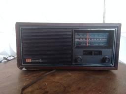 Rádio Am/fm Nissei Caixa De Madeira - Linda Peça
