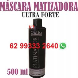 Título do anúncio: 10 Matizador Black Tonalizante Cinza Promoção 500 ml Osllo Profissional