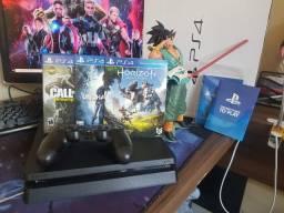 PS4 + Controle + Jogos