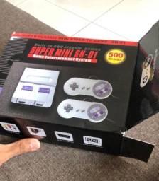 Super Mini Nintendo 500 Jogos