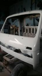 Cabine do VW e Ford Cargo