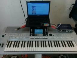 Troco s910 em teclados sample interno
