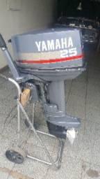 Motor Yamaha 25hp usado - 1994