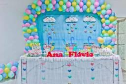 Peças para decoração de festa infantil em feltro