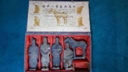 Os guerreiros Qin Dinastica Chinesa