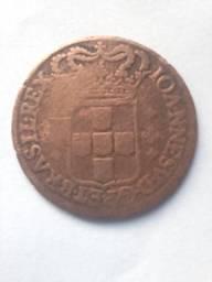 Moeda de puro cobre de 1722!!! Inacreditável e imperdível
