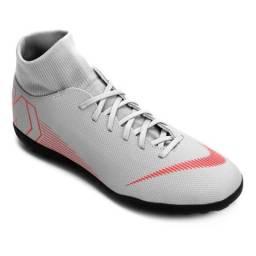 082afadd2a Chuteira Society Nike Mercurialx Superfly 6 Botinha Promoção