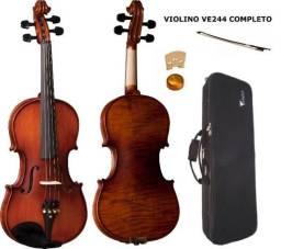 Violino Eagle Ve244 + Case + Breu + Arco Produto Novo Loja Fisica
