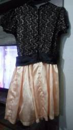 Vendo vestido de festa tamanho P serve M