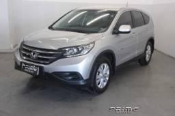 Honda CRV 2012 LX. Câmbio automático + bancos de couro