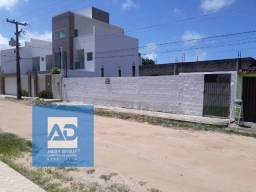 Terreno com casa em construção - Massagueira