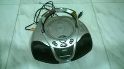 Radio rca am fm e toca cd mp3