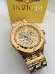 e80231b7ae6 Relógio masculino INVICTA ARLINDO CRUZ TODO FUNCIONAL  Preço de fornecedor