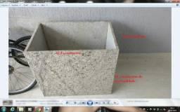 Caixa de ar condicionado em granito