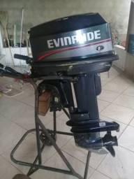 Motor de canoa Evinrude 25 - 2012