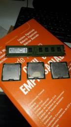Processadores i-3 e Memória RAM de 2gb