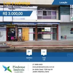Loja na Avenida Abdo Saadi em Jacaraípe, 120m²