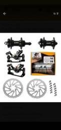Freio Disco Bicicleta Gts Alumínio Completo