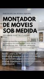 VAGA MONTADOR DE MÓVEIS SOB MEDIDA