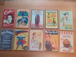 Conjunto de quadros Vintage (10 unidades)