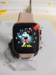 Smartwatch Inteligente Iwo 12 Pró Série 5 44mm Faz e recebe ligações notificações