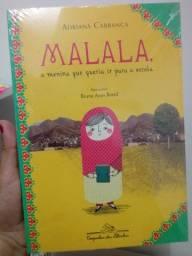 Livro infantojuvenil- Malala, a menina que queria ir para a escola