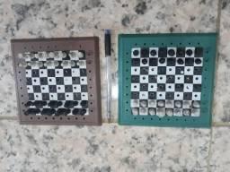 Jogo de xadrez miniatura