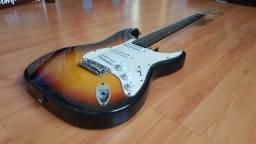 Guitarra Squier Koreana Vintage Sunburst original - Takamine Crafter Cort Yamaha fender