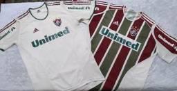 2 Camisas Fluminense Adidas 2005 Titular + Reserva