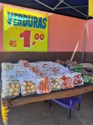 Verdurão Rei das Verduras com verduras baratas a partir de R$1,00