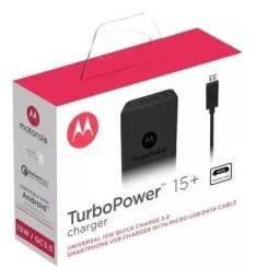 Carregador Motorola Turbo Power V8 ou Tipo C