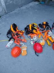 Kit Cinto de Segurança Paraquedistas