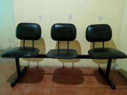 Cadeira 3 lugares