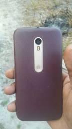 Vendo esse celular Moto G3 todo bom apenas com trinco fio de cabelo como mostra aí na foto