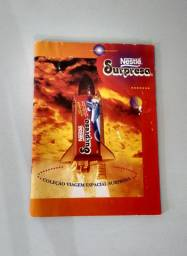 Álbum Nestlé Viagem Espacial Anos 90