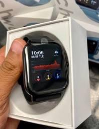 10X Sem Juros Smartwatch P8 novo na Caixa whatsapp Instagram esporte fitness