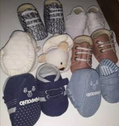 Combo lote calçados bebê