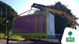 Lanchonetes em Estrutura Metálica ou Containers