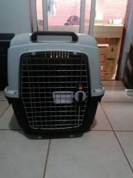 Caixa transporte aéreo internacional para cachorro medio até 16kg