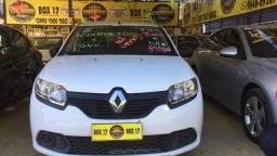 Renault sandero 1.0 authentique novissimo completao com gnv unico dono