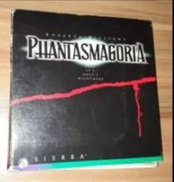 Jogo terror p/ pc Phantasmagoria com 7 CDs. 1995