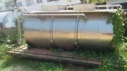 Tanque rodoviário transporte leite