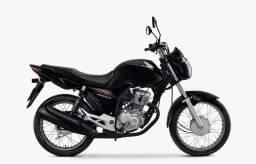 Honda CG Fan 160 Start 2021 Zero Km + Garantia Total Honda Preta