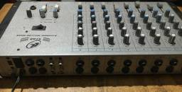 Mixer ll star 8 canais Mic/line
