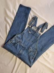 macacão jeans vintage com cgc