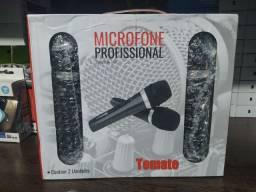 Microfone Profissional 2 Unidade COM Fio